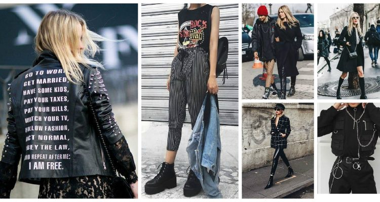 How To Dress Punk Style